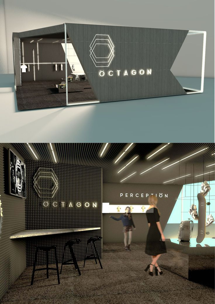 Black and light booth