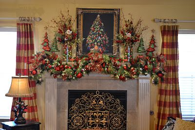 Gorgeous Mantle Display...