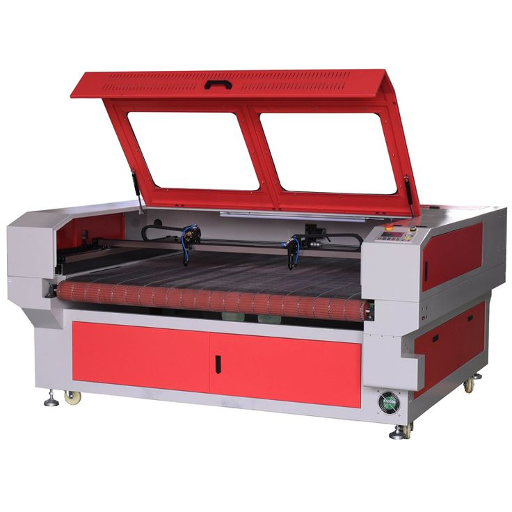 Double heads auto feeding cnc laser cutting machine price MC1610