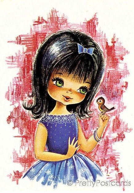 You+are+such+a+cutie+pie+vintage+big+eye+dollie+von+hipposdream.