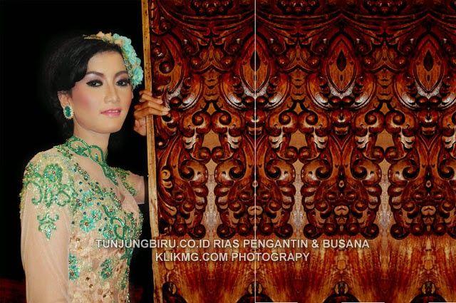 blog.klikmg.com - Rias Pengantin - Fotografi & Promosi Online : Rias pengantin Modern Berbalut Kebaya Hijau Toska ...