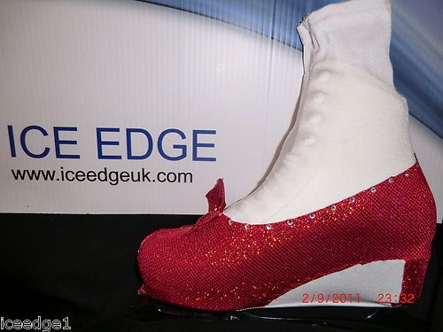 ICE/ROLLER SKATING ARTISTIC BOOT COVERS ALL SIZES/COLS