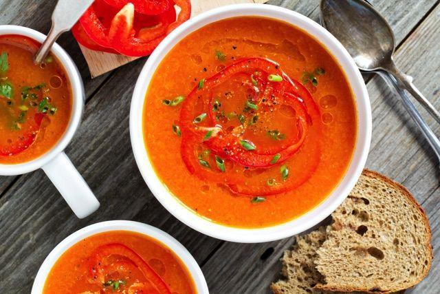 ひんやり冷たいスープ「ガスパチョ」
