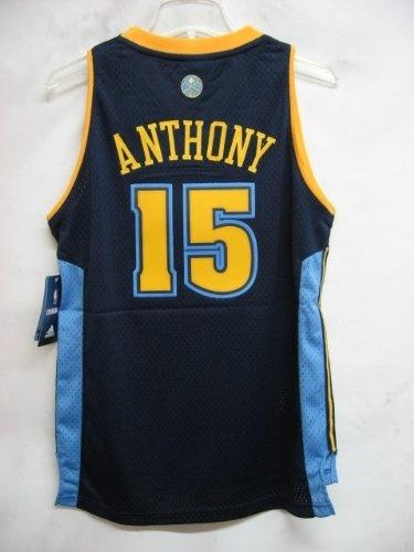 8293eb17c ... Carmelo Anthony Denver Nuggets NAVY NBA YOUTH Swingman Jersey 8.99 ...