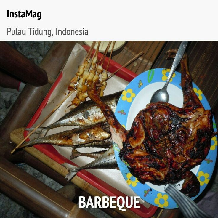 Barbeque at Tidung Island