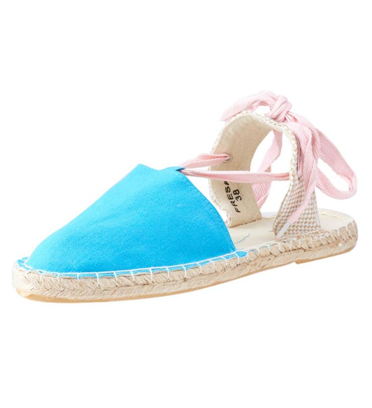 FFC New York Fresa Espadrille Shoes Blue