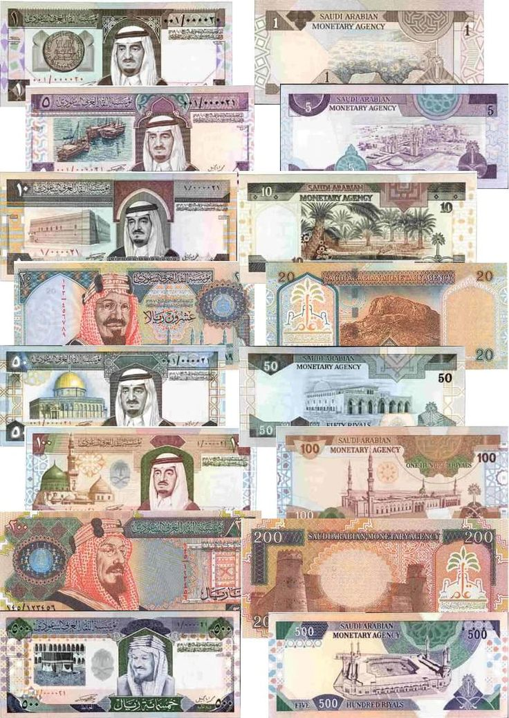 Saudi Arabia - riyal