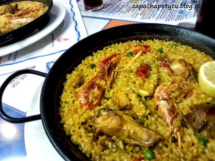 Paella #paella #Spain #Ibiza #seafood #foodblog #polishgirl