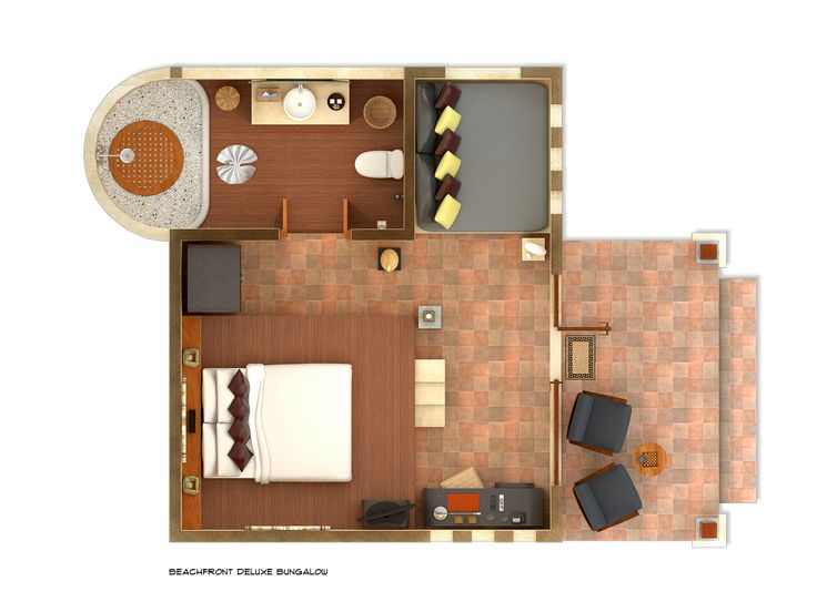 Beach Bungalow Floor Plans - Google Search