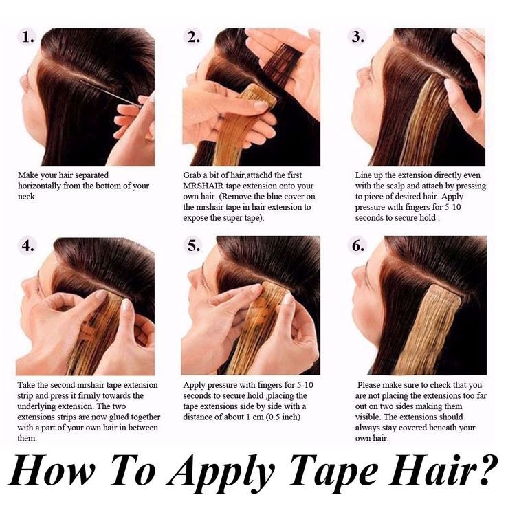 Skin Weft Hair Extensions Tape In Human Hair Exten…