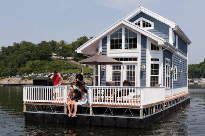 These Floating Cabins Near Cincinnati Are The Ultimate Place To