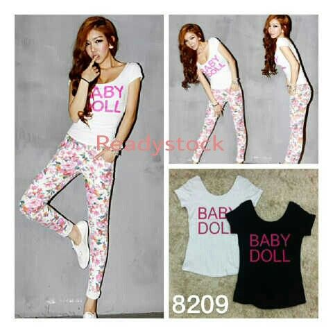 Baby Doll Top  ♡ bodyfit ♡ highquality cotton stretch ♡ all size