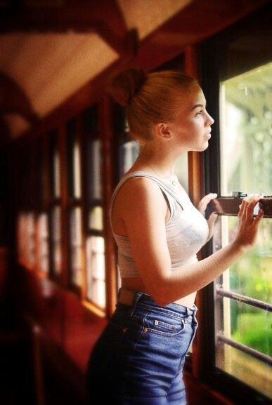 Kuranda scenic railway, old fashioned train