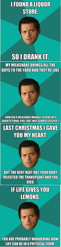 Castiel <- Great now he is a meme.