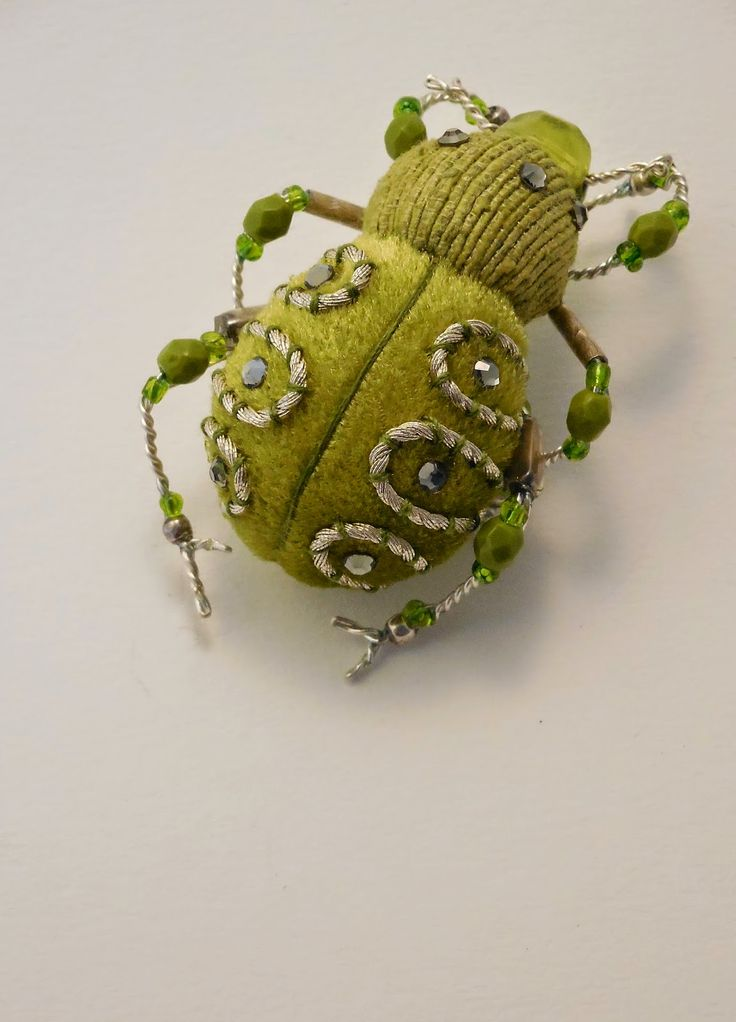 Best insectes brodés embroidered insects images on
