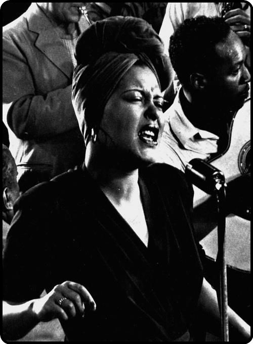"""Billie Holiday """"Lady Day"""" (1915-1959) American jazz singer and songwriter, had a…"""