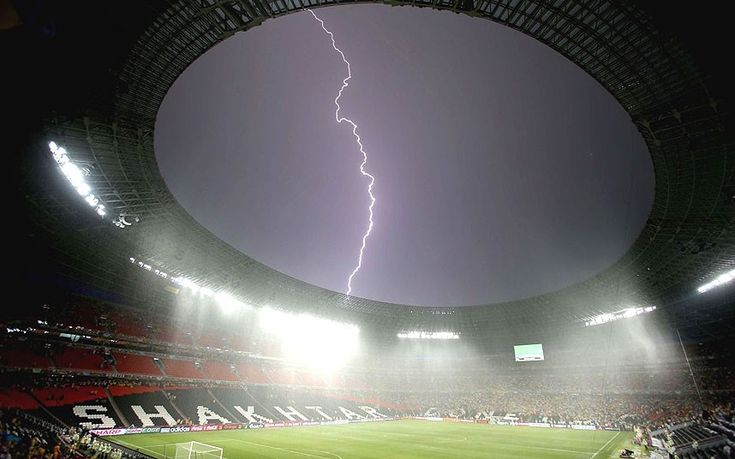 Donbass Arena - Euro 2012: group stage in pictures