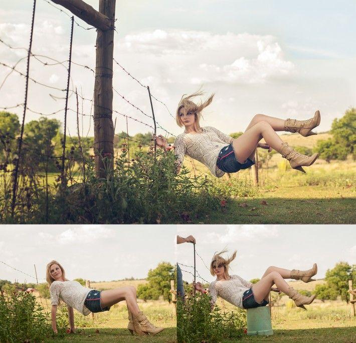 Levitación en fotografía: Los secretos del montaje