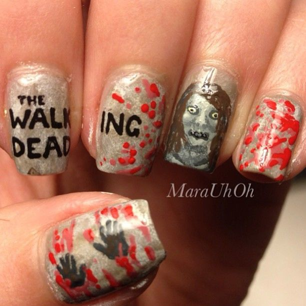 Walking Dead Nails: 1000+ Images About The Walking Dead Nails On Pinterest
