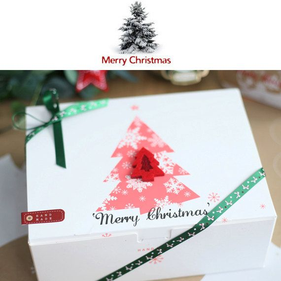 5 Chritmas White One Touch Gift Box M Christmas Gifts