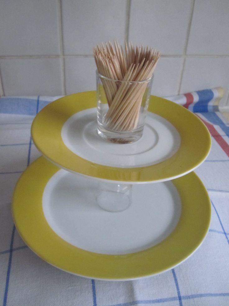 Serveerschotel aperitiefhapjes
