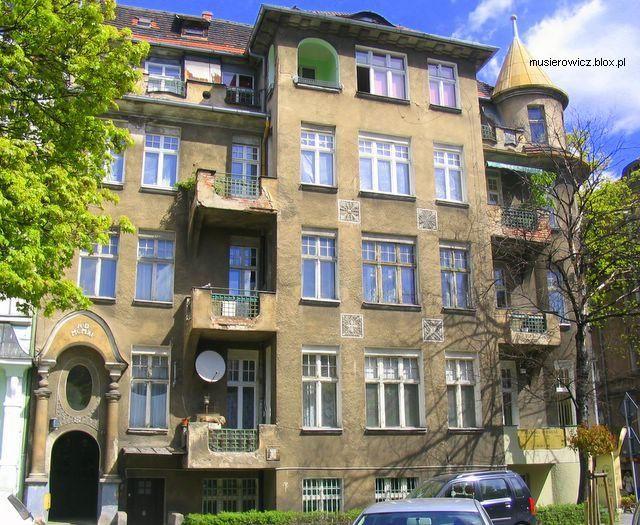 ul. Słowackiego - dom Żaków