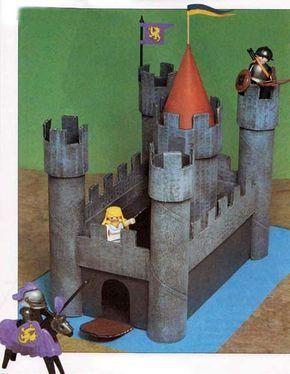 Поделка Рыцарский замок / Детские поделки / Поделки 7-10 лет / Детские поделки-игрушки