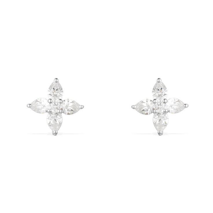 Marquise Shape Stud Earrings