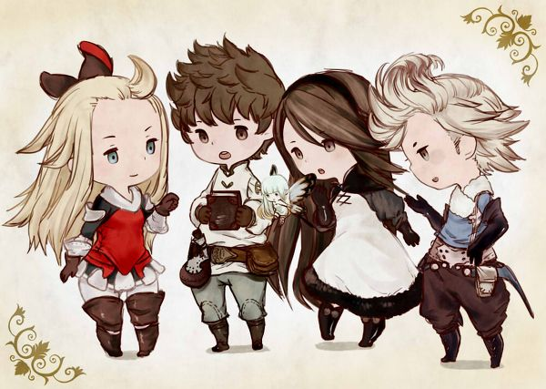 Bravely Default Chibi Group [(c) original artist (not mine)]