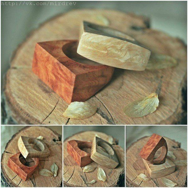 Best Rings Wooden Images On Pinterest Wooden Rings - Inside each of these wooden rings is a beautiful hidden world
