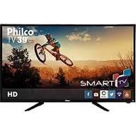 "Smart TV LED 39"" Philco PH39N86DSGW HD com Conversor Digital 3 HDMI 1 USB Wi-Fi Closed Caption e Sleep timer"