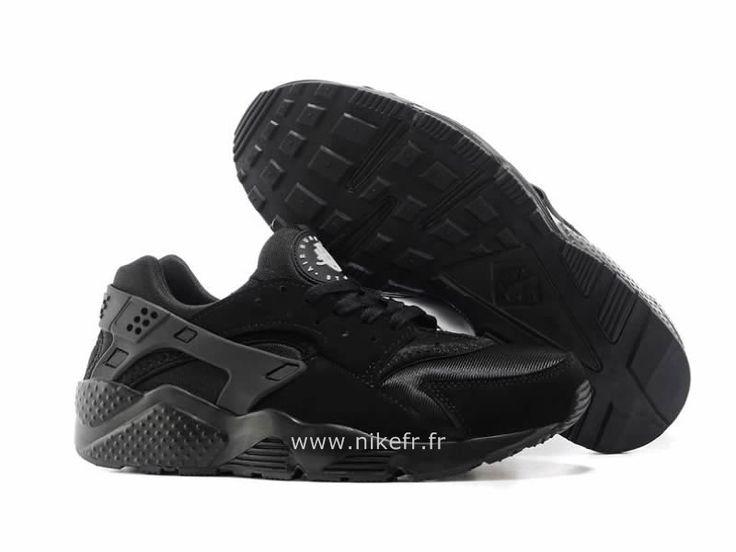 vans bordeau - Nike Air Huarache Tout noir - Chaussure Pour Homme Triple Nike ...
