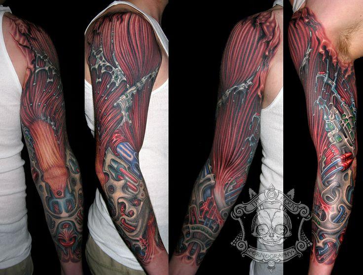 Muscle Mech. (Tim Kern) Xxxxx! My boyfriends arm