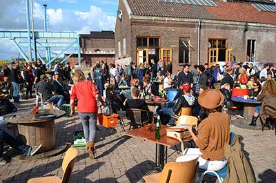 Amsterdam Roest, great place to hang out when the weather is nice!