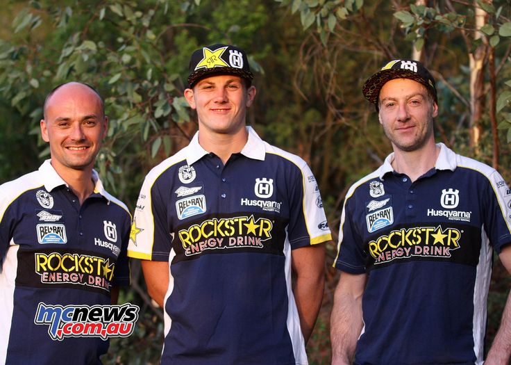 Graham Jarvis joined by Billy Bolt in 2017 Factory Husky Extreme Enduro Team