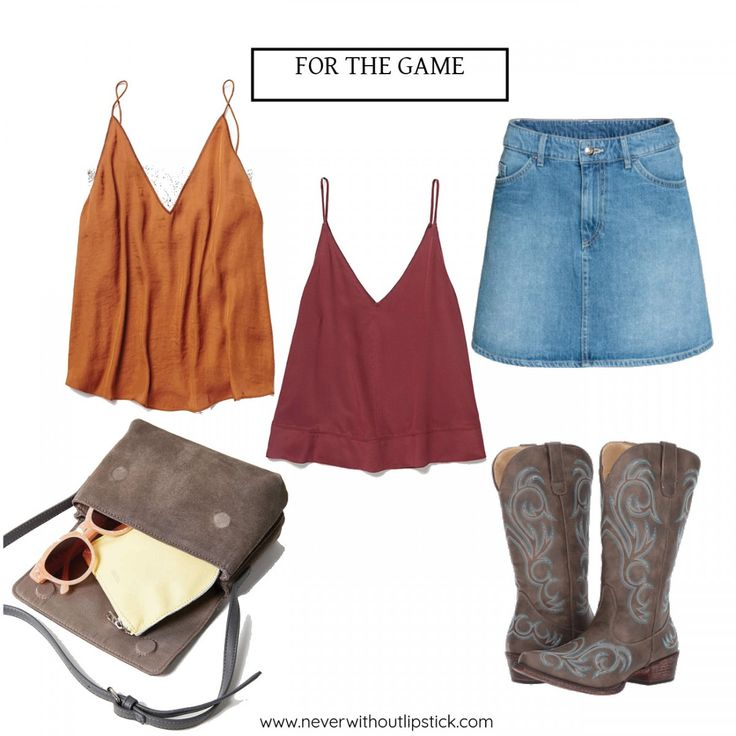 Style blogger Ashley Deatherage shares 4 Texas/OU outfits for the football game weekend | Never Without Lipstick | football game outfit, college football game outfit, fall football game outfit, texas ou weekend, texas ou outfits