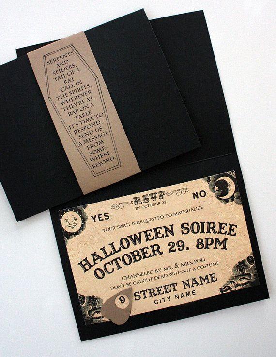 Ouija Board Invites PRINTABLE