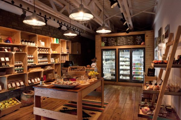 Health food store in Mexico