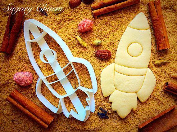 Rocket Ship cookie cutter