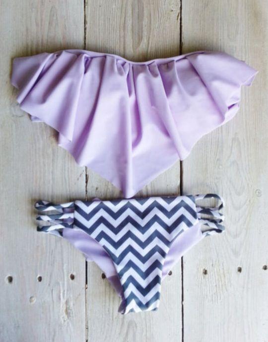 Pretty bathing suit