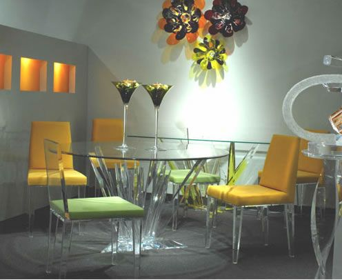 Light Energy Acrylic Furniture
