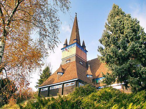A miskolci Deszkatemplom / The  Plank-church of Miskolc, Hungary
