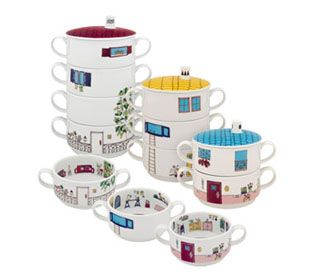 Building 4 Floors Bairro das Flores. New children's collection, original and fun, consisting of three houses with different floors, created by Brazilian designer Fernanda Massotti.