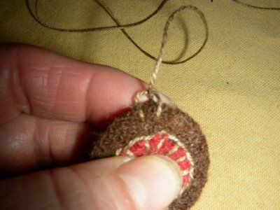 Penny Rugs And More ~ The First Stitch ~ Excellent Tutorial On The Art Of  Felting.