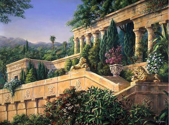 Giverny Bob Pejman - Hanging Gardens of Babylon