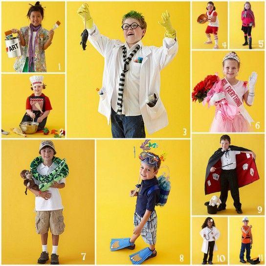 Idee creative per i costumi dei #bambini #Carnevale