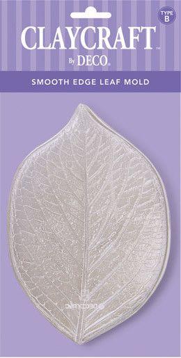 Type B. CLAYCRAFT by DECO Textured Leaf Mold | DECO Clay Craft Academy Online Shop