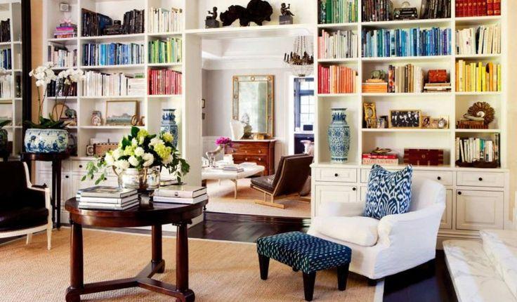 Házi könyvtárak, amelyekbe tuti te is beleszeretsz – GALÉRIA