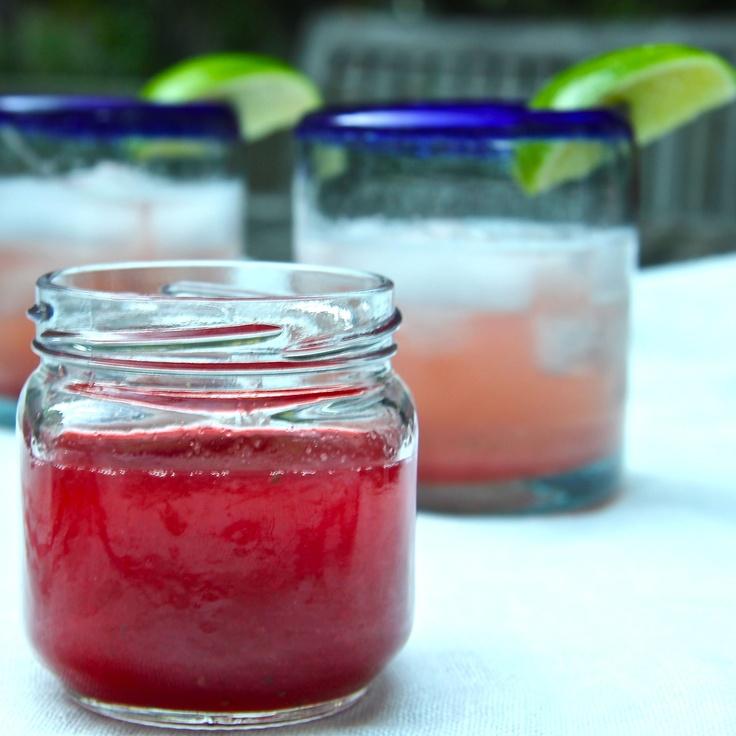 Strawberry – Rhubarb Syrup | Recipe