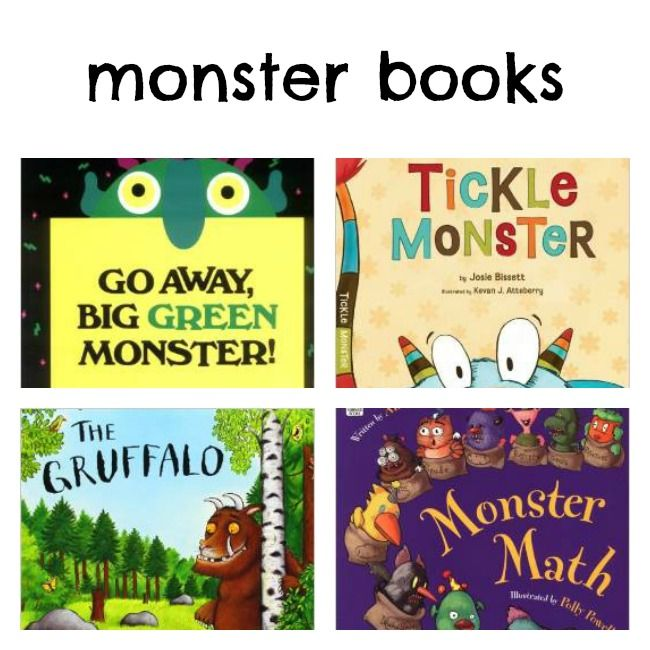 Monstrous List of Monster Activities - Left Brain Craft Brain